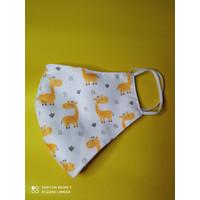 Masker Kain Earloop - Baby Giraffe