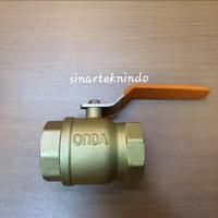 ball valve onda 1 1/2 inch kuningan