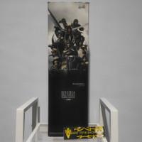 Final Fantasy Dissidia Trading Calender Poster ( Rare )