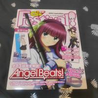 Dengeki Gs Festival Angel Beats Limited Editions with Dakimakura