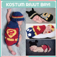 Kostum Baju Rajut Bayi Foto Fotografi Bayi Newborn Full Month 1