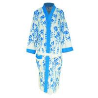 Handuk kimono dewasa motif mawar handuk baju handuk berenang dewasa