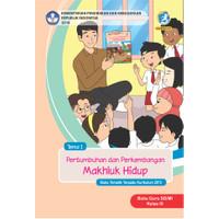 Buku guru kelas 3SD-MI Tema 1 pertumbuhan dan perkembangan makhluk hid