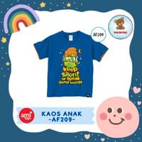 Kaos Anak / Baju Anak / Atasan Anak Laki-Laki Afrakids (AF209)