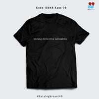 "Kaus Narabahasa 09 ""sedang mencerna kalimatmu"""