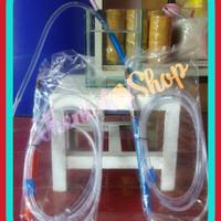 Selang sifon soliter/Aquarium ikan cupang,guppy dll. Size tipe M