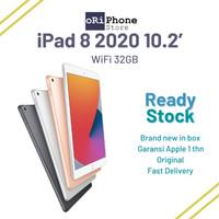 New iPad 8 2020 WiFi 32GB 10.2 Wi-Fi 32 GB GREY GRAY GOLD SILVER - SPACE GRAY