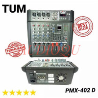 power mixer audio TUM pmx402 4channel