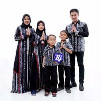 Baju Seragam Keluarga Muslim Terbaru / Batik Couple Keluarga Modern