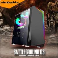 PC Gaming Core i7 / Geforce GT 1030 2GB DDR5 / HDD 500 GB / DDR 8GB