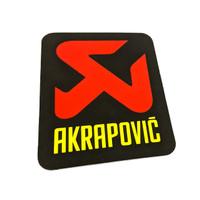 Sticker Akrapovic Merek Knalpot Motor Sport Motogp Vertikal
