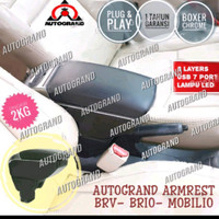 CONSOLE BOX ARMREST BRIO PLUG N PLAY