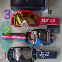 Kacamata goggle Fox Cross Google motor