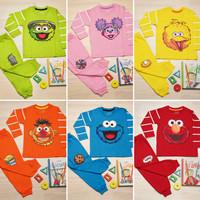 Piyama Anak Baju Tidur Adem Elmo, BigBird, Oscar, Abby, MrCookie,Ernie