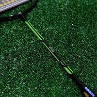 Raket Badminton APACS DUAL POWER AND SPEED KUAT 35 lbs +grip original