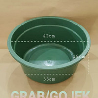 Baskom Plastik Besar Diameter 42cm   Ember Plastik   BAK 20