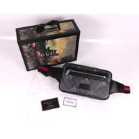 GUCCI GG Supreme Tiger Waistbag 100% Original Black Market