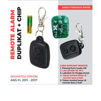 Duplikat Remote Alarm Mobil Sirion OLD Drift ANS FL + CHIP + Batre