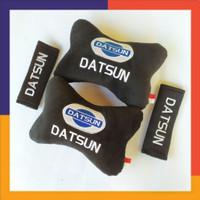 bantal mobil leher Datsun go - bantal set Mobil