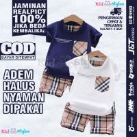 Setelan Baju Stelan Anak Laki Laki Cowok Import 1 2 3 Tahun Murah CO3