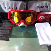 Kacamata Motor Fox Google Cross 2 Lensa Red