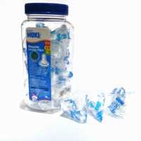 JMELS Huki Baby Nipple / Dot Silikon Tanpa BOX - SATUAN (Dot Bulat)