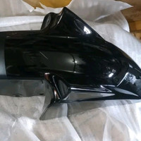 Spakbor depan yamaha Scorpio Z new hitam original 54D-F1511-00-0X