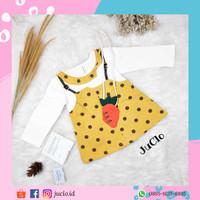 Baju Bayi Korea Perempuan Dress juclo 0 bulan 2 tahun murah