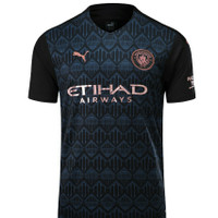 JERSEY BOLA M.City Away 2020-2021 PREMIUM HIGH QUALITY - L