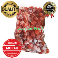 PALING MURAH 500gr IQF Stroberi Beku Strawberry Frozen Fresh