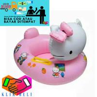 Ban Renang Anak Hello Kitty Pelampung Karakter Bebek Ring Safety