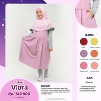 Bani Overall Viora Baju Muslim Jumpsuit Anak