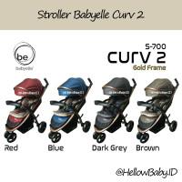 Stroller Baby Elle S700 Curv 2 Gold Frame / Babyelle Curv 2 Bronzo