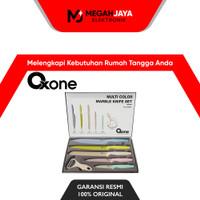 OXONE MULTI COLOR MARBLE PISAU SET / KNIFE SET OX-608N / OX608 N