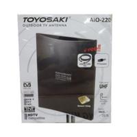 Antena TV luar/dalam indoor/outdoor digital/analog Toyosaki aio220
