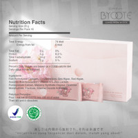 Byoote Kolagen Collagen Anti Oksidan Glowing Whitening 16 sachet 1 box