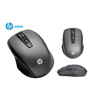 MOUSE WIRELESS/WIRELESS MOUSE HP+Mouse PAD+BATERAI - s9000