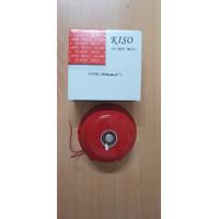 BEL/ BELL KRING SEKOLAH/ ALARM / ROUND BELL 100 MM/ 4/6/8 INCH KISO