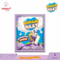 Nano Nano Milky Taro 3 sachet (@isi 6 butir)