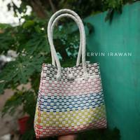 Tas Anyaman Plastik | Jali-jali Premium Size M