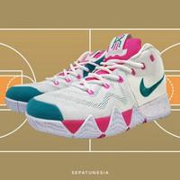 Sepatu Sneakers Basket Nike Kyrie 4.0 Size 44 45 46 White Tosca Pink