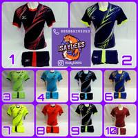 Baju Koas Jersey Olahraga Pria Wanita Sepakbola Futsal Volly Badminton