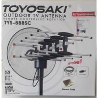 Antena Tv luar Remot control/Antena outdoor Toyosaki tys 888c