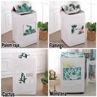 Sarung mesin cuci 1 tabung buka atas-COVER PENUTUP import