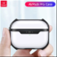 XUNDD Apple AirPods Air Pods Pro 2019 - Armor Frosted Case With Hook