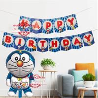 Paket Balon Set Ulang Tahun Doraemon Simple