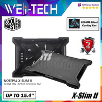 Cooler Master Notepal X-SLIM II Notebook Cooler Fan Laptop Cooling Pad