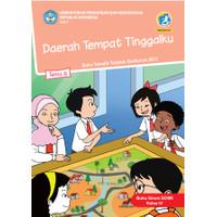 Buku siswa kelas 4 SD-MI Tema 8 Daerah tempat tinggalku