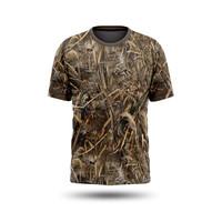 Kaos Jersey Camo / Kamuflase Berburu Hunting Loreng Realtree Pendek 01