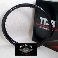 Velg TDR 17 x 160 All New Wx Shape Black Hitam